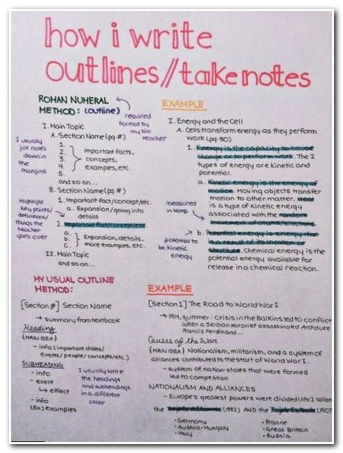 learning how to learn cornell notes as an example