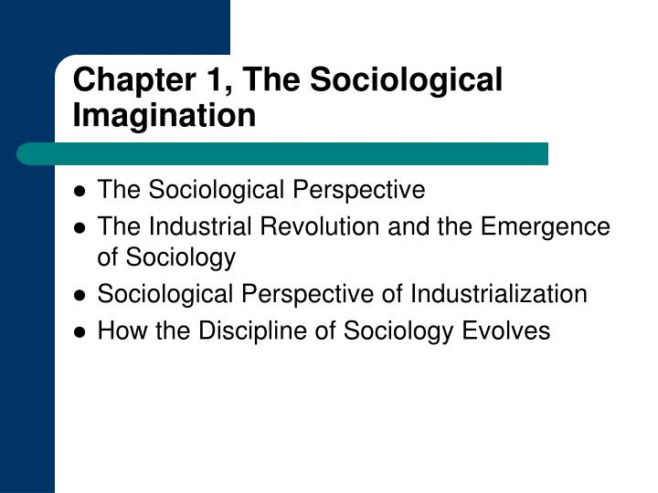 example of sociological imagination in sociology