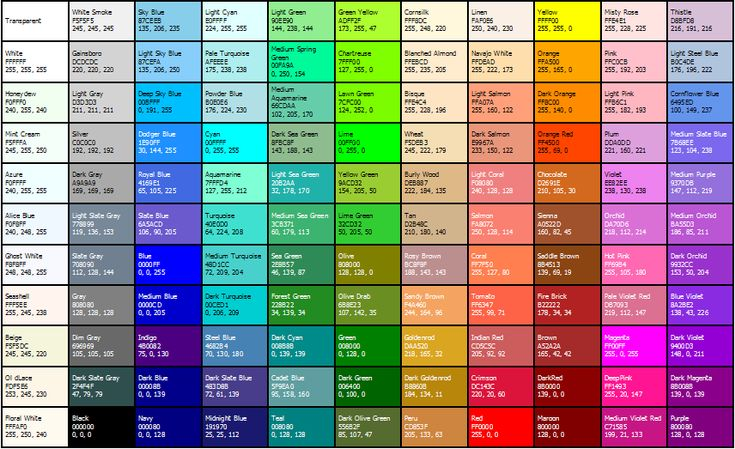 html background color code example