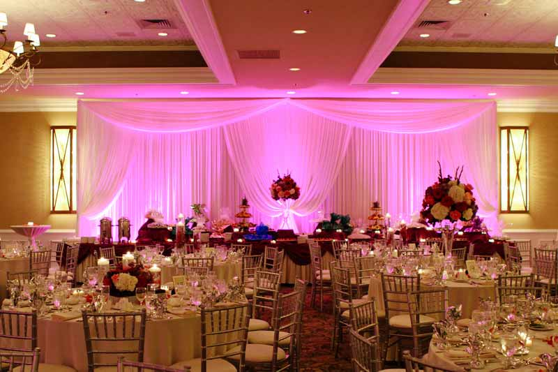 wedding event start example fill up