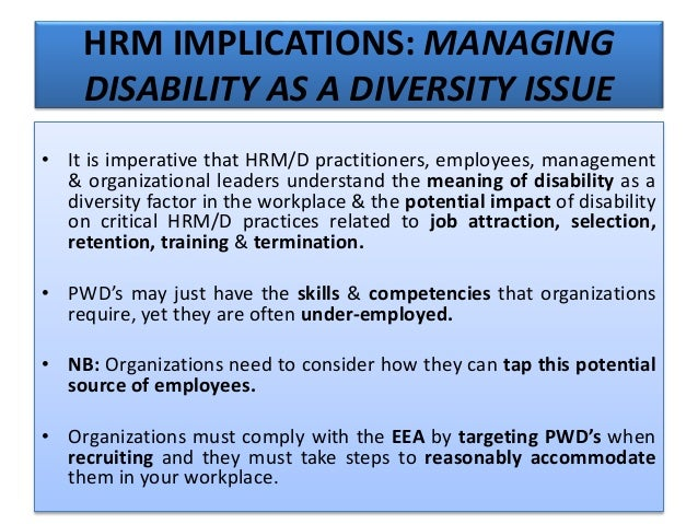 example of adverse impact discrimination