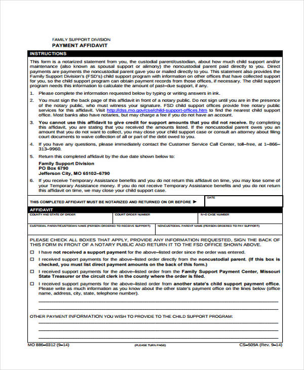 example of completed probate form victoria