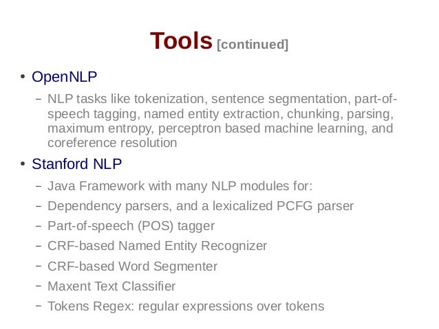 stanford named entity recognizer java example