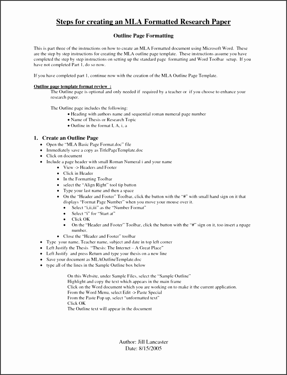 apa format research paper example 2014