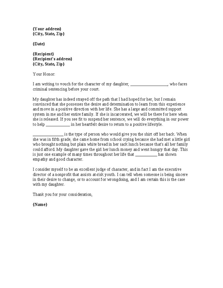 example of character reference letter for job