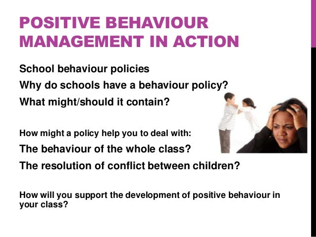 example of a behavioural assessment in a class