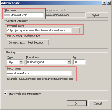 what is application domain in asp net with example
