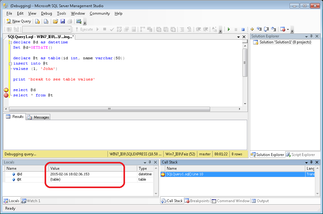 stored procedure in sql server 2008 with example for experienced