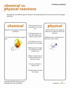 is metabolizing an example of a chemical or physical change