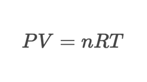 practical example of ideal gas law is used with calculations
