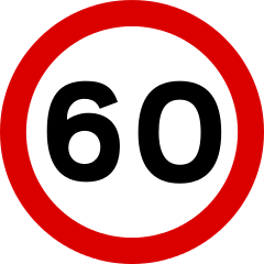 a speed sign is an example of
