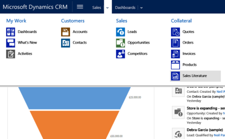 access entity collection example dynamics crm