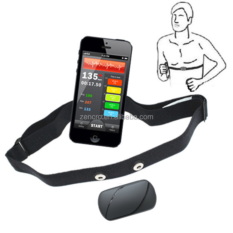 iphone bluetooth heart rate monitor example