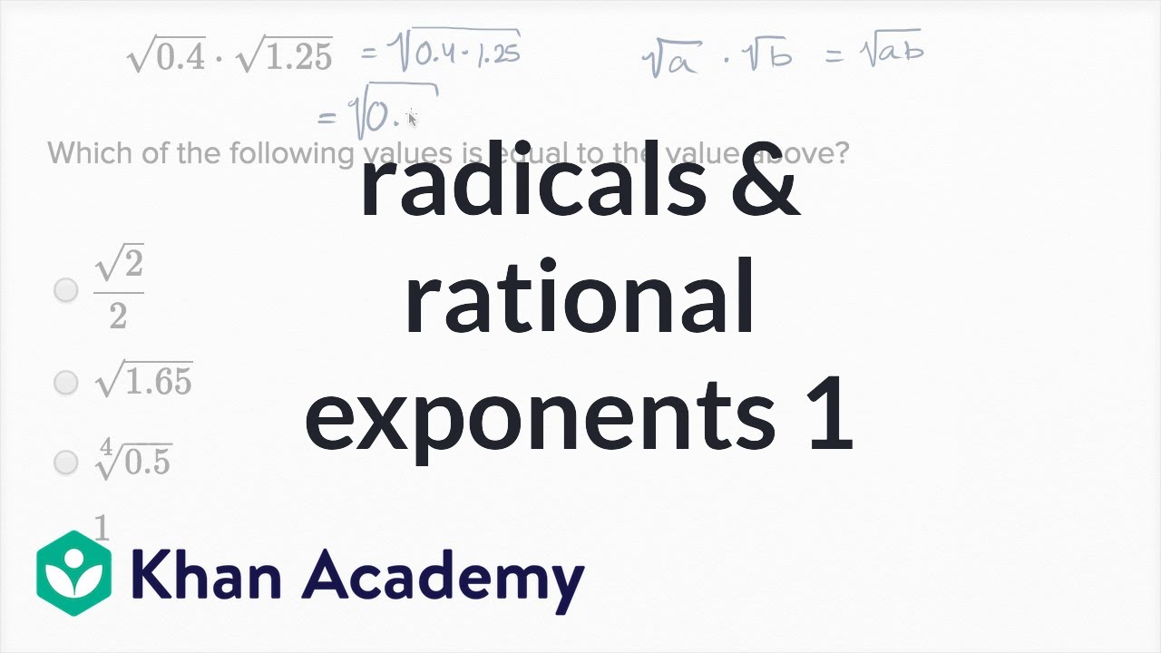 example of a tempered radicals