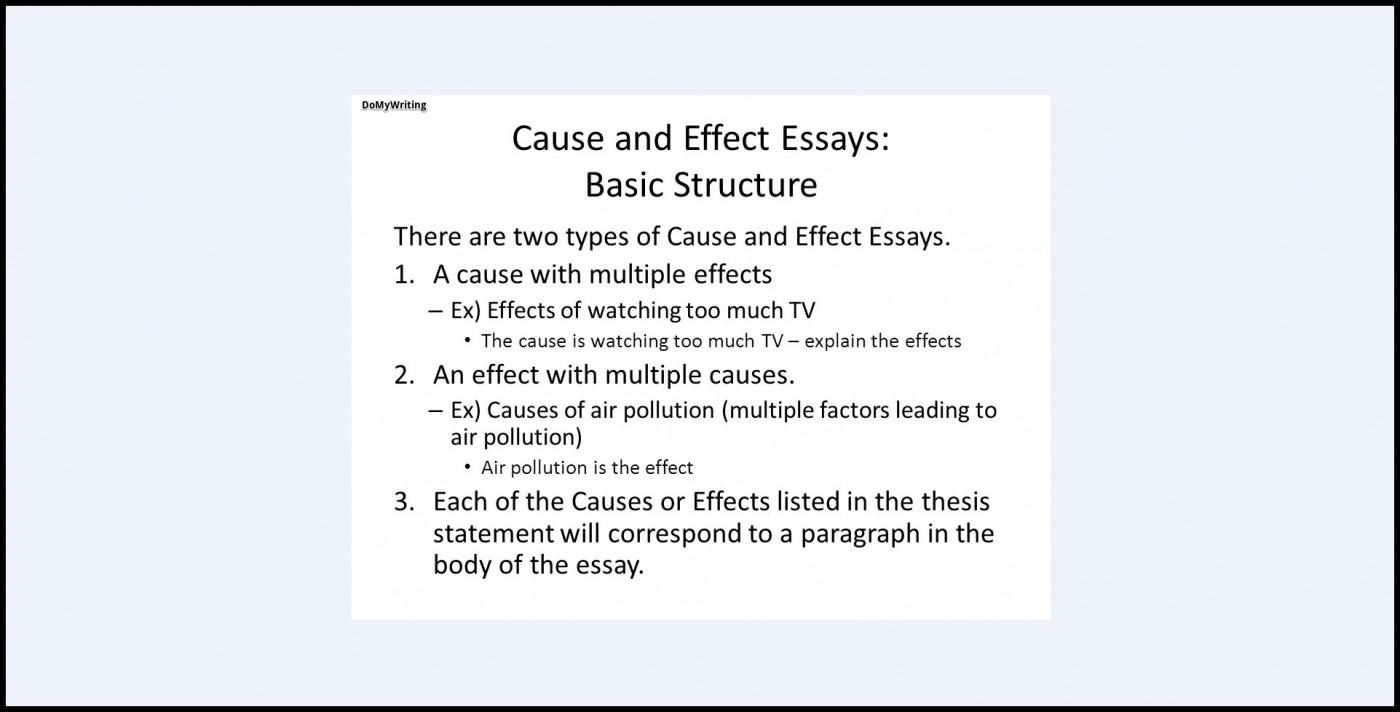 example of good outline essay