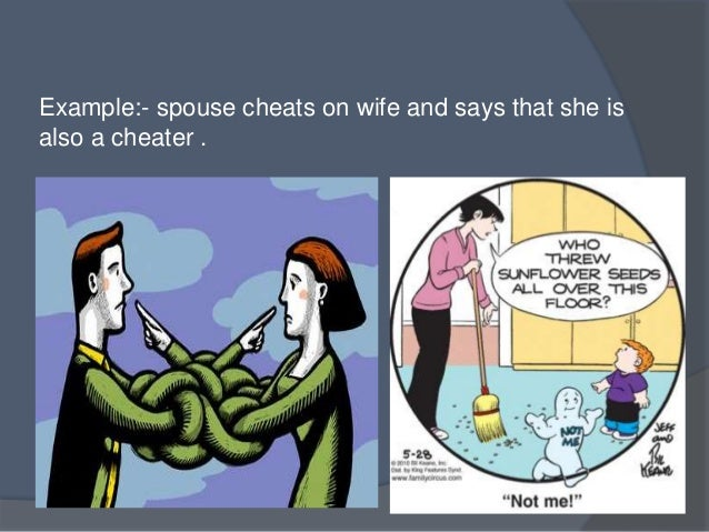 example situations of defense mechanisms