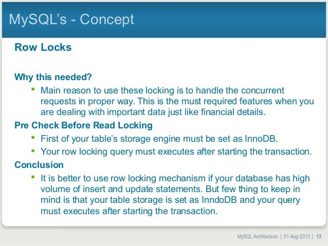 mysql select lock in share mode example