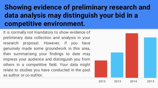 research proposal data analysis example