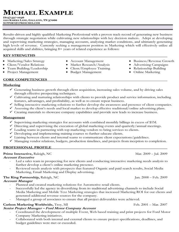 resume example talented in creating for customer